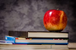 apple on books for online courses